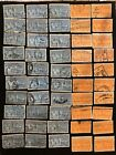 US Special Delivery Stamps Lot Of 50 Scott E16 E17 SD6 Back Of Book JG