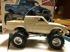Vintage Tamiya Bruiser Toyota 4x4 Pickup Truck RC with Box and Manual