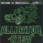 Alligator Stew: Welcome To Monticello ... Live w/ Artwork MUSIC CD southern rock