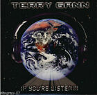 Terry Gann - If You're Listenin'  CD/DVD RARE (Aldo Nova)