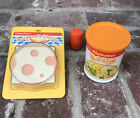 Vintage Fisher Price Fun With Food Lot Bologna  Cheese Alphabet Soup Pepper