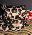 Original Ty Beanie Baby Freckles the Leopard Rare Retired 1996