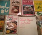9 Vintage Cookbooks CB2 Crockery Herb  Spice Family Fare Weight Watchers ++