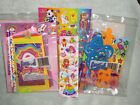 Vintage Lisa Frank Stationery Pencils Ruler and Stickers
