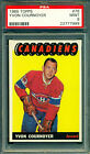 1965 66 TOPPS #76 YVON COURNOYER PSA 9 MINT