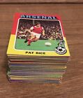 Collection Of 92 All Different 1975 Topps Bazooka Football Cards Red