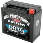 DRAG SPECIALTIES BATTERY HARLEY DYNA WIDE GLIDE SUPER GLIDE LOW RIDER 1991-2017