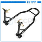 Sport Bike Rear Motorcycle Stand Forklift Paddock Swing arm Spool Wheel Lift