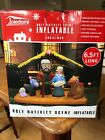 Joiedomi Christmas Inflatable Decoration 65 ft Nativity Scene Inflatable