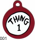 Pet Tags Dog Tags Personalized Pet ID tag for Dog and Cat Collars Tags Thing 1