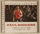 PAUL RODGERS - EXTENDED VERSIONS CD NEW SEALED LIVE 1995 GERMANY of Bad Company