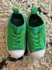 Native Toddler Slip On Sneakers Shoes Green Blue Size EU 22 C6