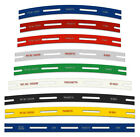 Track Laying Templates straight  curves Tracksetta OO HO gauge 10 products