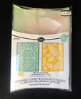 Sizzix Textured Impressions Embossing Folders 2 Pack NEW Choice of 2 Styles