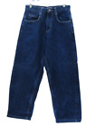 MENS SOUTH POLE Vintage Dark Blue Indigo Denim Jeans 30 X 28 EUC Straight Leg