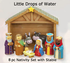 Nativity Set by Little Drops of Water NEW Christmas