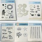 A Muse Studio Cling Mount Unmounted Rubber Stamp Set Lot B4