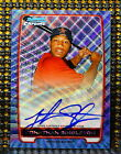 2012 Bowman Baseball Blue Wave Refractor Autographs Are Red-Hot 57