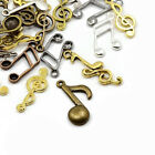 Wholesale Tibetan Music Note Charms Multicolour 5 40mm 20 Packs Of 30g