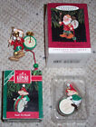 Hallmark Ornament Lot ~Hark it's Herald & One Elf Marching Band ~Christmas Drums