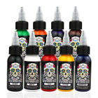 OPHIR Pro Tattoo Pigment Ink for Tattoo Machine Kit 9 Color Set 30ML Bottle