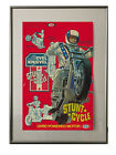 NEW RED Evel Knievel Stunt Cycle Poster Print Ideal