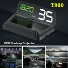 T900 Car LED GPS Speed Water Temperature HUD Head up Projector Universal Parts