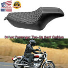 Driver Passenger Two Up Seat For Harley Sportster 883 1200 XL1200T Iron 48 BTB2