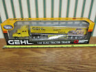 Gehl Construction International Semi With Van Trailer By DCP 1 64th Scale