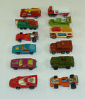 VTG Lot 12 1970s Matchbox Superfast Rolamatics Lesney Products Diecast Vehicles
