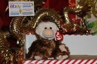 TY BEANIE BABY HOODWINK THE MONKEY-5 1/2