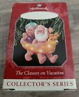 1998 Hallmark Keepsake Ornament Clauses on Vacation at Beach 2nd in Series NIB