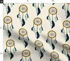 Bold Dreamcatcher Southwest Native American Fabric Printed by Spoonflower BTY