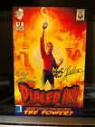 AUTOGRAPHED JERSEY JACK DIALED IN PINBALL COMIC BOOK