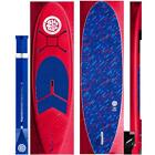 Bloo Tide 96 Soft Top Stand Up Paddleboard Paddle Leash And Fins Included