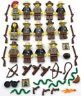 LEGO 14 NEW WESTERN WILD WEST MINIFIGURES NATIVE AMERICAN INDIAN FIGURES WEAPONS