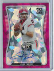 2020 LEAF METAL DRAFT GEORGIA JAKE FROMM ACTION PINK MOJO ROOKIE AUTO #'D 1 5