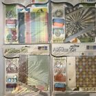 Scrapbooking Mini Album Kits Lot Of 4