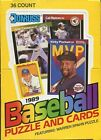 (2) 1989 Donruss Unopened Wax Box. Griffey, Jr. Rookie This is for 2 boxes
