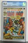 IRON MAN #55 - CGC Graded 8.5 Off-White To White Pages - Marvel 1973 Comic