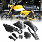 8 SET COVER ENGINE CARBON BLACK FAIRINGS FIT FOR HONDA Z125 MONKEY 125 18-2020