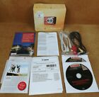 Canon Powershot A480 Digital Camera in Red Instructions, Box, Wires