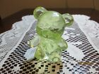 BOYD CRYSTAL ART GLASS SUNSHINE TEDDY BEAR