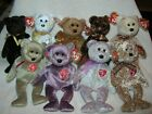 TY Beanie Babies,  - 1999 to 2007 SIGNATURE BEARS (8.5 inch)  SEE NOTE!