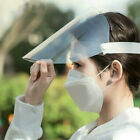 SAME DAY Ship Safety Full Face Shield Clear Visor Dustproof Protector medical