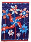 Fourth of July Pinwheels Garden Flag Double Sided 12 x 18