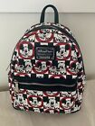 Loungefly Disney Parks THE MICKEY MOUSE CLUB Mini Backpack Exclusive NEW wTags