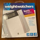 Weight Watchers by Conair Glass Body Analysis Scale  New open box Free Ship