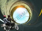 87855 Trippy Tunnel Moped Warped Decor LAMINATED POSTER CA