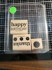 Rubber stamps Stampin up new and used retied hard to find